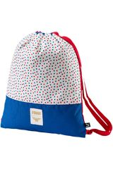 Bolso de Niña Puma WONDER WOMAN GYM SACK Blanco / azul