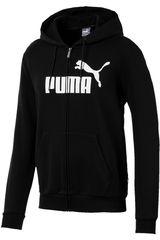 Puma Negro / blanco de Hombre modelo ess fz hoody fl big logo Deportivo Casacas