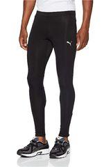 Puma Negro de Hombre modelo speed long tight Deportivo Pantalones