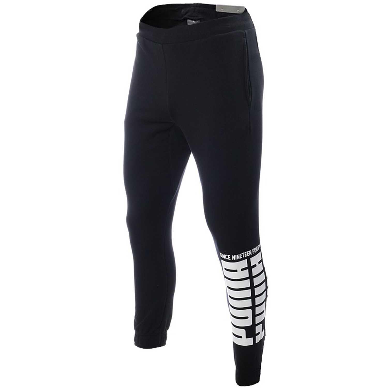 49c92bfc3 Pantalón de Hombre Puma Negro   blanco rebel bold pants tr ...