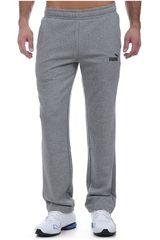 Puma Gris / negro de Hombre modelo ESS Logo Pants TR op Deportivo Pantalones