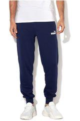 Pantalón de Hombre Puma Azul / blanco ESS Logo Pants TR cl