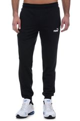 Puma Negro / blanco de Hombre modelo ess logo pants tr cl Deportivo Pantalones