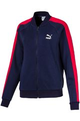 Puma Azul / rojo de Mujer modelo Classics T7 Track Jacket, FT Casacas Deportivo