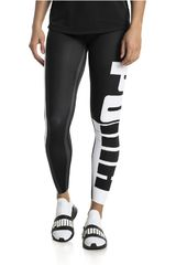 Puma Negro / Blanco de Mujer modelo VarsityTight Leggins Deportivo