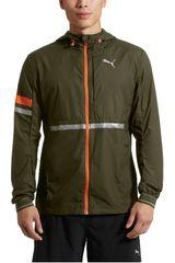 Puma Verde/naranja de Hombre modelo LastLap Jacket Deportivo Casacas