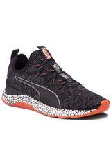 Puma Negro / Naranja de Hombre modelo Hybrid Runner Unrest Zapatillas Running Deportivo
