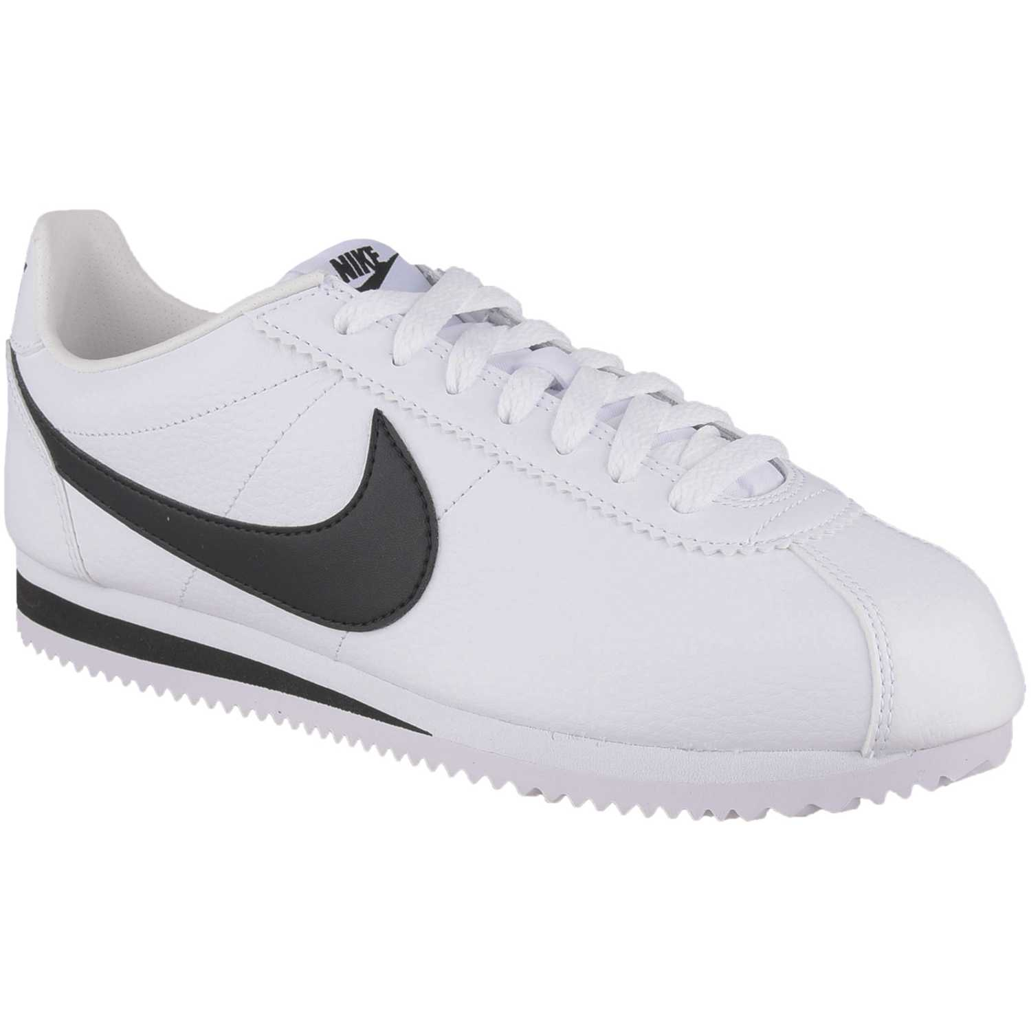 uk availability 42869 818b0 Zapatilla de Hombre Nike Blanco   negro classic cortez leather