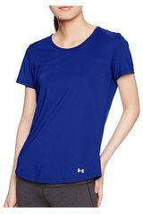Under Armour Azul de Mujer modelo SPEED STRIDE SHORT SLEEVE Polos Deportivo
