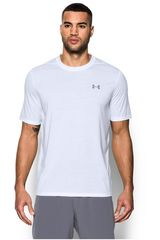 Under Armour Blanco de Hombre modelo UA Threadborne SS Polos Deportivo