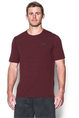 Under Armour Guinda de Hombre modelo UA THREADBORNE 3C TWIST SS Polos Deportivo