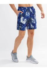 Under Armour Azul de Hombre modelo ua launch sw 7'' print short Deportivo Shorts