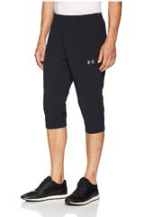 Under Armour Negro de Hombre modelo Accelerate Off Pitch HalfPant-BLK Deportivo Pantalones