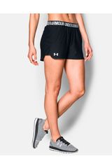 Under Armour Negro de Mujer modelo new play up short Shorts Deportivo
