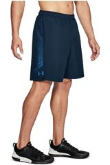 Short de Hombre Under Armour Azul Woven Graphic Short