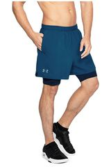 Under Armour Acero de Hombre modelo ua qualifier 2-in-1 short Deportivo Shorts