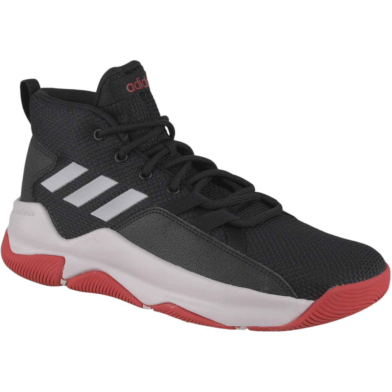 Zapatilla de Hombre Adidas Negro   rojo streetfire  01e411015