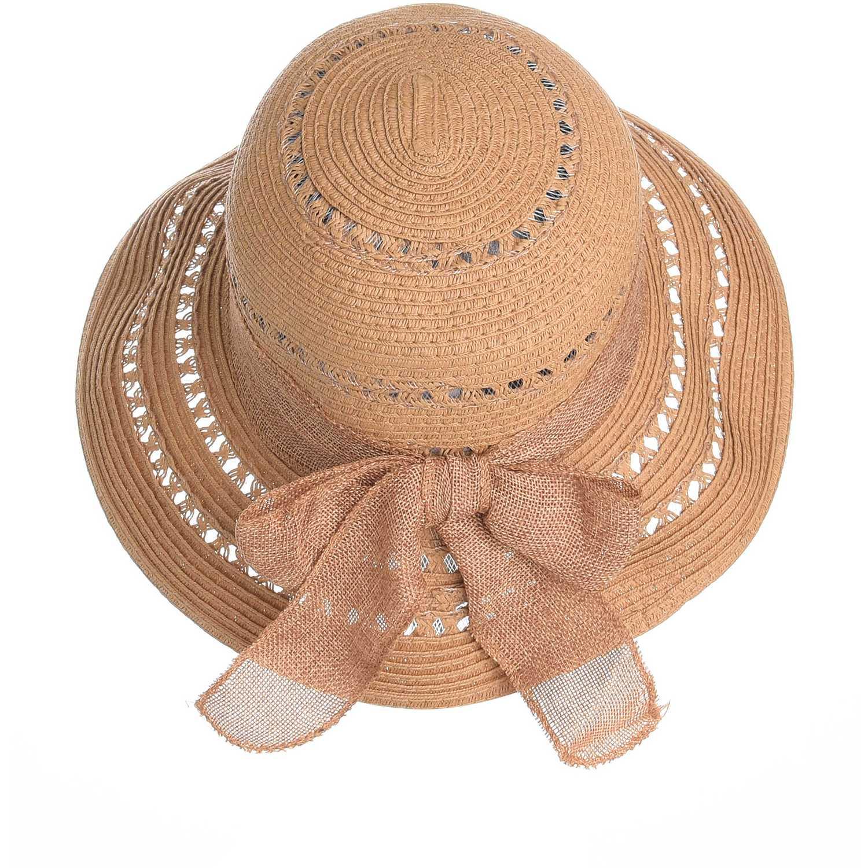Sombrero de Mujer Platanitos Marron u32-7