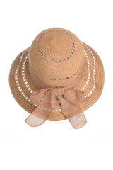 Platanitos Marron de Mujer modelo U32-7 Sombreros Casual
