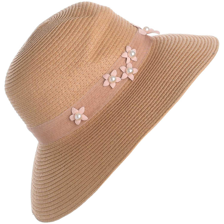 Sombrero de Mujer Platanitos Beige style d