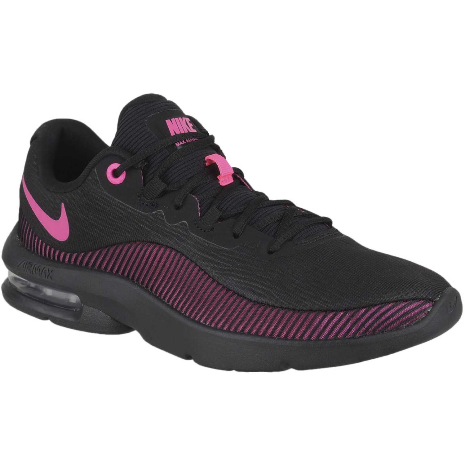 detailed look 41156 891ab Zapatilla de Mujer Nike Negro  rosado wmns nike air max advantage 2
