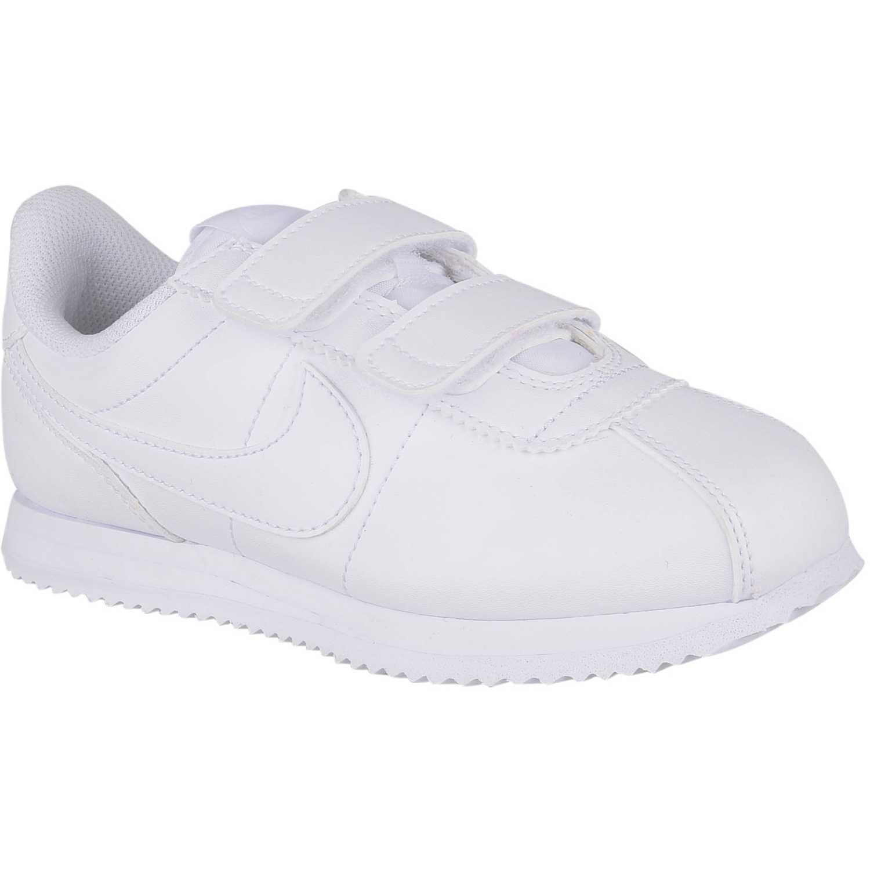 Zapatilla de Niño Nike Blanco/blanco cortez basic s