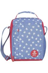 Lonchera de Niña Xtrem Rojo / celeste lunch bag sweethearts lunch 844