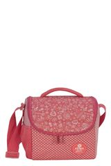 Lonchera de Niña Xtrem lunch bag doodles coral break 846 Coral