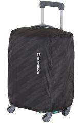 Saxoline Negro de Hombre modelo Cubre maleta S BLACK/STAMP TRAVEL ACC SX Maletas