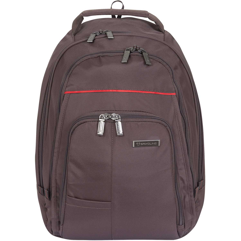Mochila de Hombre Saxoline Negro laptop backpack 673 tobacco dow