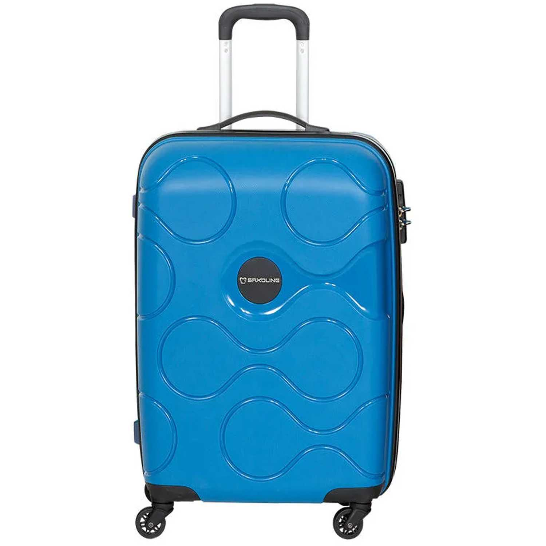 Maleta de Hombre Saxoline Azul spinner 55/20 blue atlas