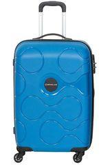Saxoline Azul de Hombre modelo spinner 55/20 blue atlas Maletas