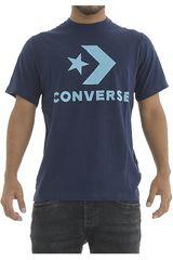 Converse Azul de Hombre modelo STAR CHEVRON TEE Polos Deportivo