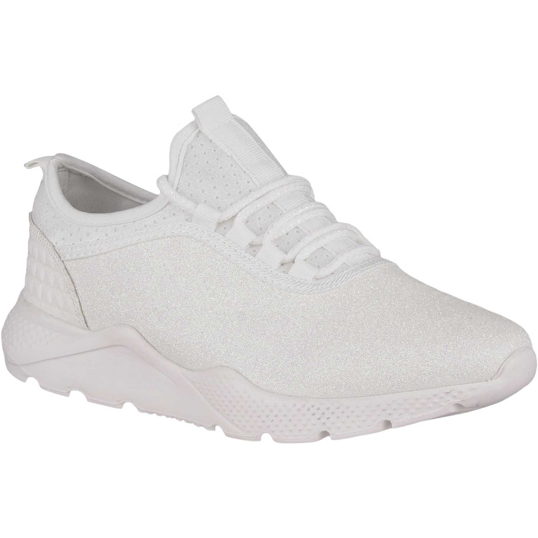 Zapatilla de Mujer Platanitos Blanco z 7038