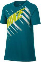 Nike Verde de Jovencito modelo B NK DRY TEE DF SPEED BLOCK Deportivo Polos