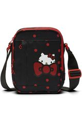 Converse Negro / Rojo de Mujer modelo HELLO KITTY CROSS BODY BAG Morrales