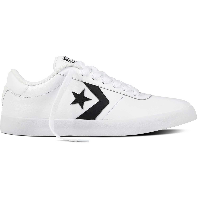 Zapatilla de Mujer Converse Blanco point star leather