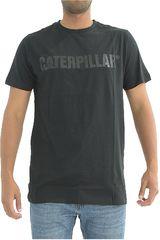 Polo de Hombre CAT Negro caterpillar logo tee