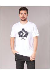Converse Blanco de Hombre modelo BURGLAR TEE Polos Deportivo