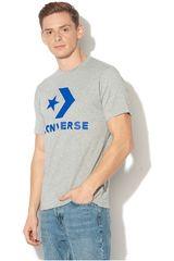 Converse Gris de Hombre modelo CORE STAR CHEVRON TEE Polos Deportivo