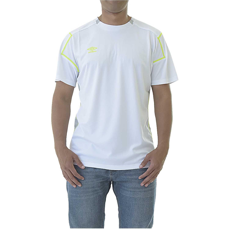 4b43ebff628b3 Polo de Hombre Umbro Blanco silo training jersey