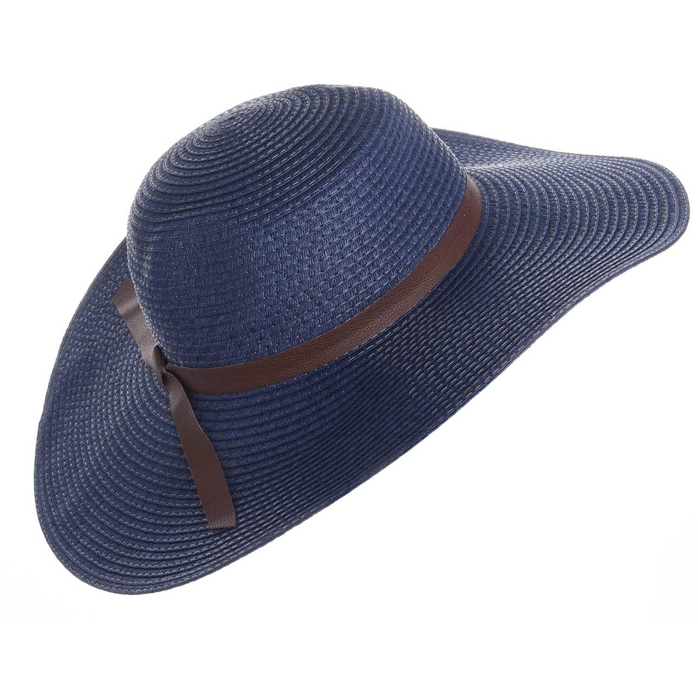 Sombrero de Mujer Platanitos Azul wlbb11266-hat