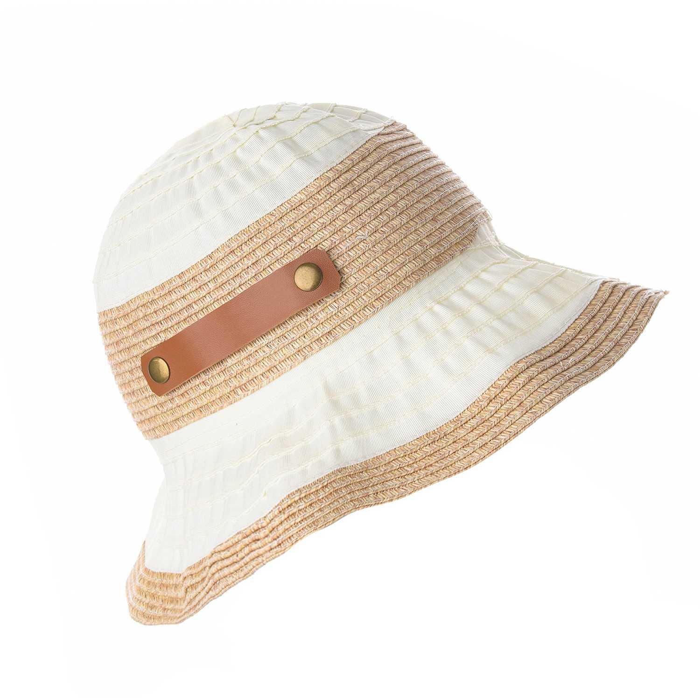 Sombrero de Mujer Platanitos Marfil tw36-27