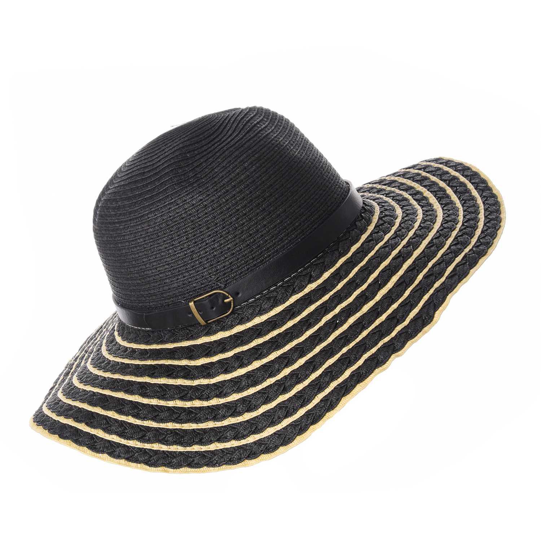 Sombrero de Mujer Platanitos Negro t4-26