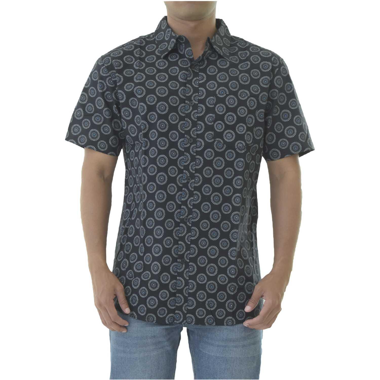 Camisa de Hombre Dunkelvolk Negro zoom  cc9a69b9af1df