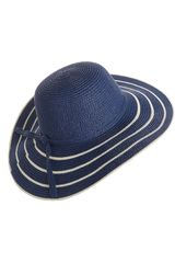 Sombrero de Mujer Platanitos Azul WLBB31277-3-HAT
