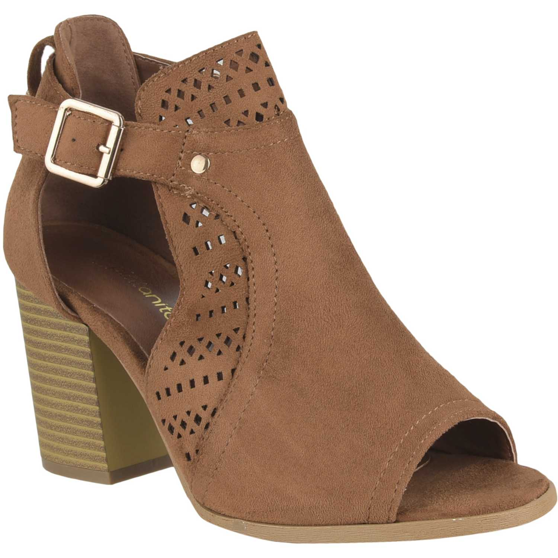 Sandalia de Mujer Platanitos Camel sbt 2208