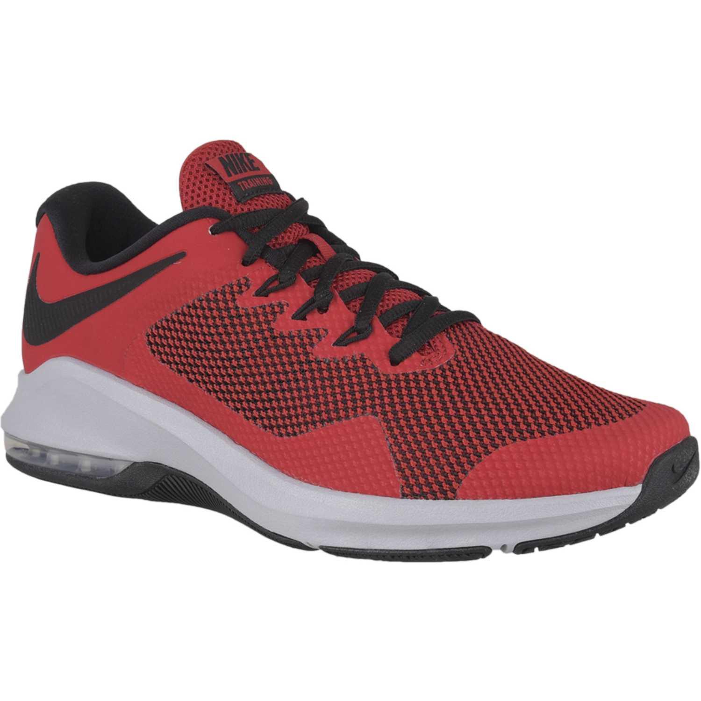 quality design cd0ad 8947b Zapatilla de Hombre Nike Rojo  negro nike air max alpha trainer