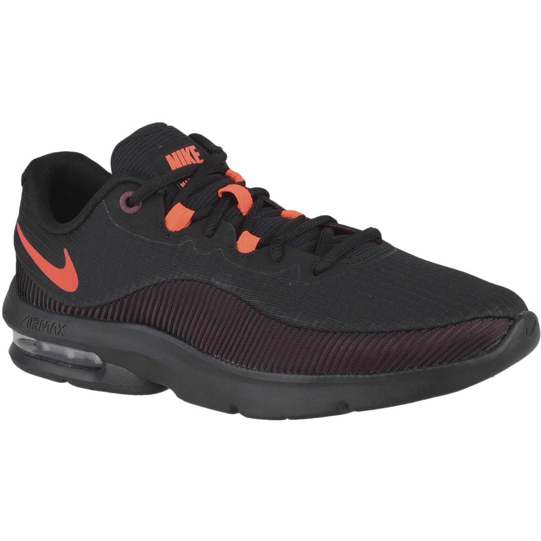 d85b9bafd6d6f Zapatilla de Hombre Nike Negro   naranja nike air max advantage 2 ...