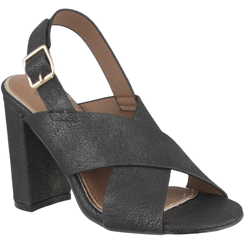 Sandalia de Mujer Platanitos Negro s 3006